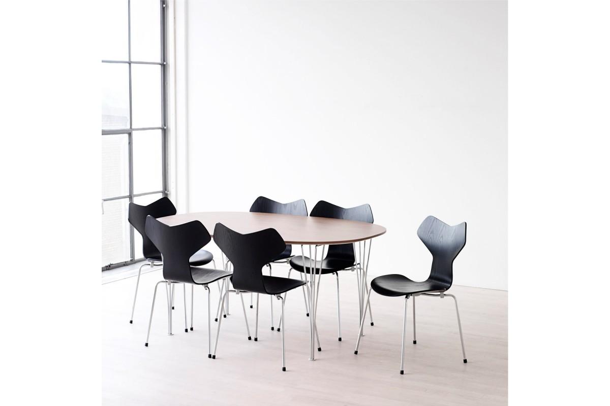 grand prix spisestol. Black Bedroom Furniture Sets. Home Design Ideas