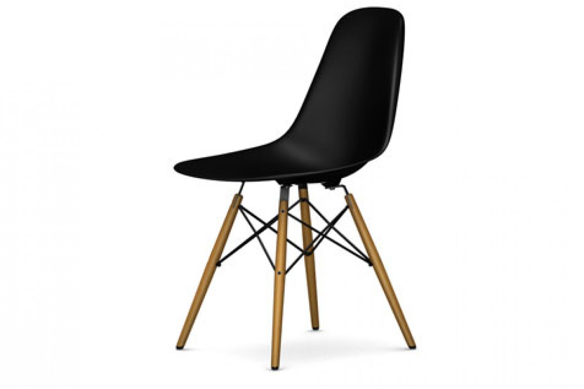 vitra eames plastic side chair dsw. Black Bedroom Furniture Sets. Home Design Ideas