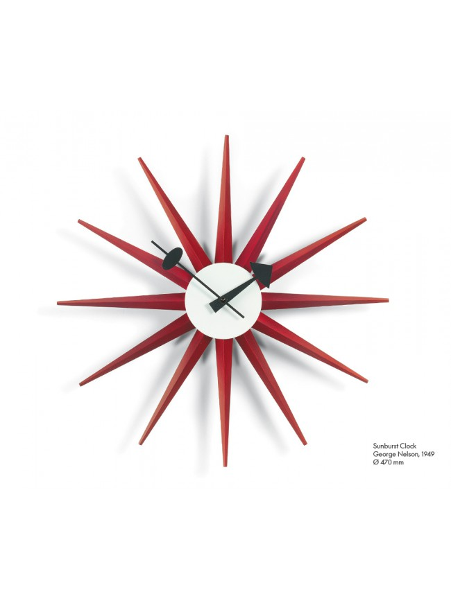 Vitra Design Museum Sunburst Clock