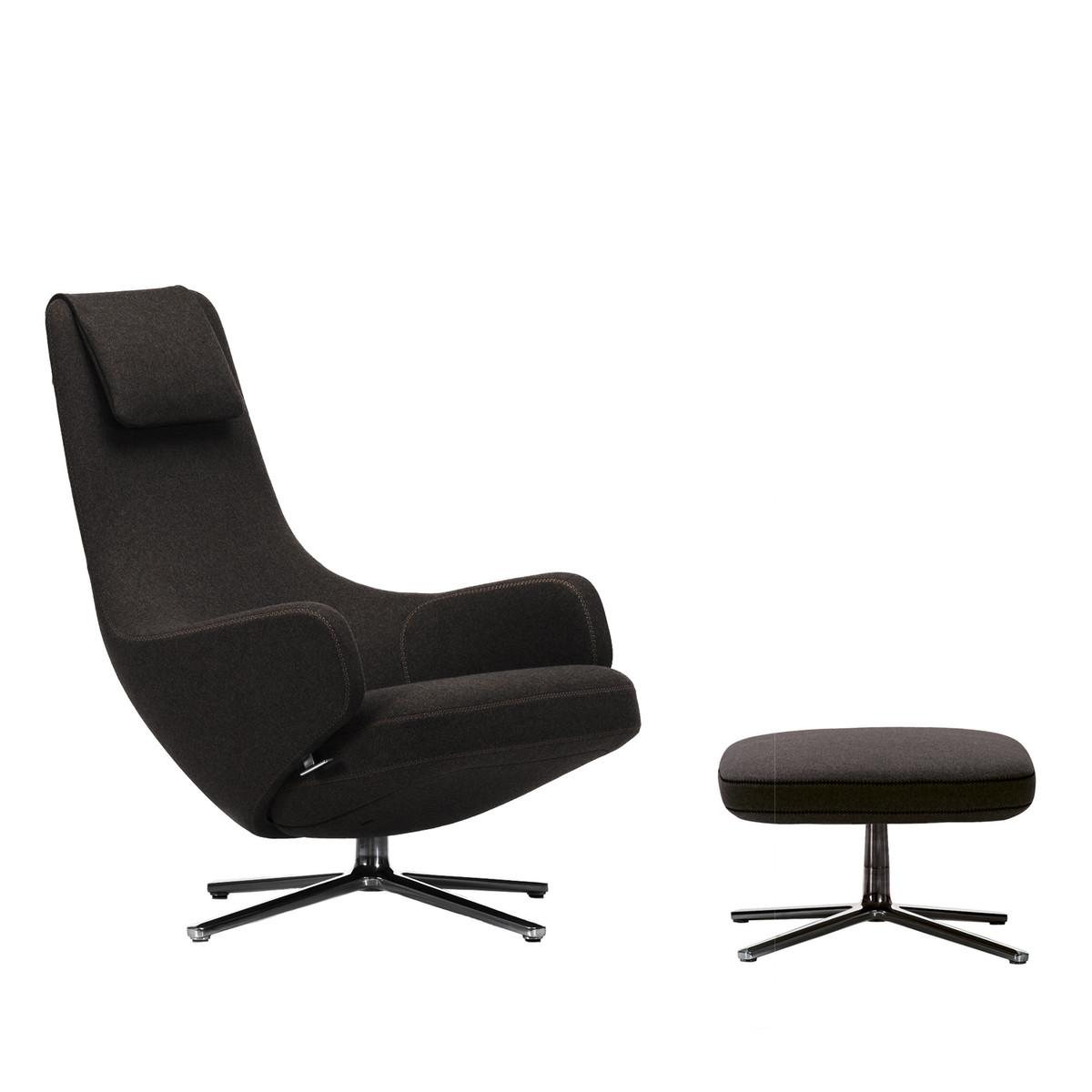 Black white studio for Vitra design sessel